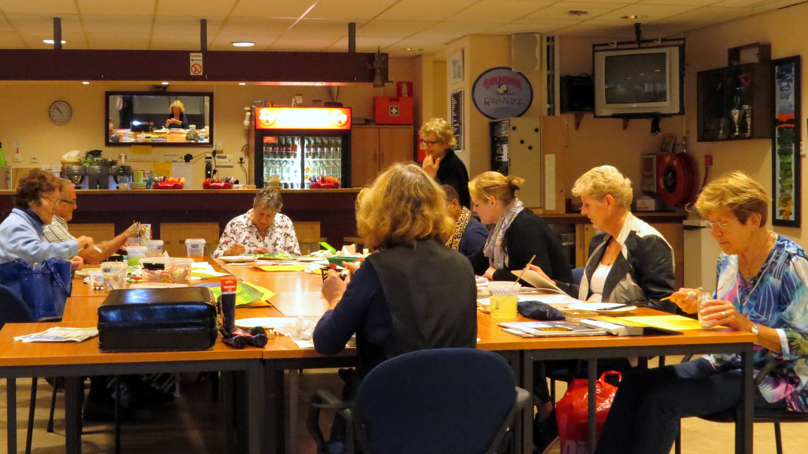 Tekenen&Schilderen 2013d0925t1053 qzh ZoetermeerS Gaardedreef (Patio)